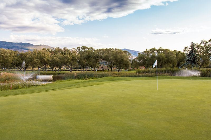 Kelowna Golfing at mission creek golf club