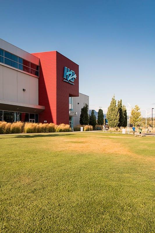 H2O Adventure + Fitness Centre exterior shot